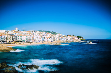 Palafrugell in Catalania / Spain (Long time Exposure)