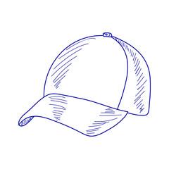 sketch baseball cap