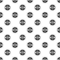 Sale pattern seamless vector repeat geometric for any web design