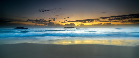 Sunrise a the beach