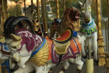 carousel, horse, ride, fair, fun, carnival, park, amusement, merry-go-round, horses, colorful, merry, round, merry go round, statue, fairground, childhood, funfair, temple