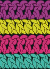Seamless double crochet stitch pattern
