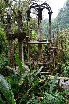 Jardin Surréaliste Edward James Xilitla Mexique - Edward James Surrealist Garden Xilitla Mexico