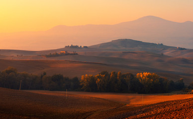 Sunset in Toscana