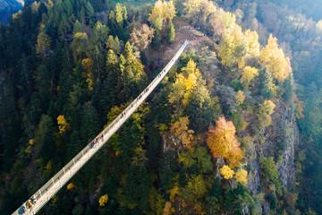 Ponte nel Cielo - Valtartano - Valtellina (IT) - Vista aerea
