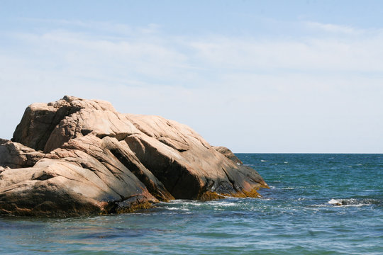 Rocks in Ocean, Little Compton, Rhode Island