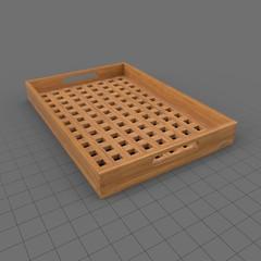 Modern tray