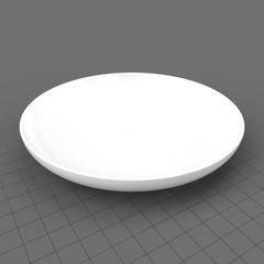Modern salad plate
