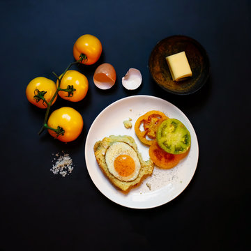 Breakfast Eggs and Tomatoes