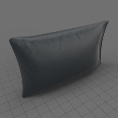 Modern throw pillow