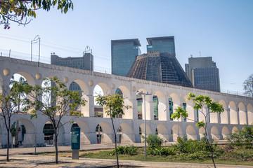 Arcos da Lapa Arches and Metropolitan Cathedral - Rio de Janeiro, Brazil