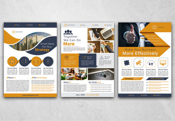 3 Business Flyer Layouts
