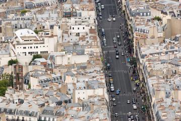 Paris from above / Paris von oben