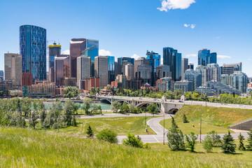 Calgary, Alberta City Skyline