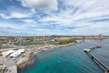 Curacao from the cruise ship
