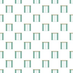 Living room window pattern seamless repeat background for any web design
