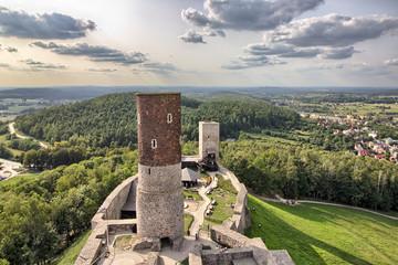 Fotobehang Kasteel Checiny Royal Castle near Kielce - Poland