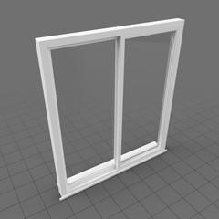 Window double rail