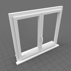 Window double flat