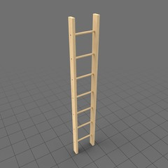 Wooden ladder 2