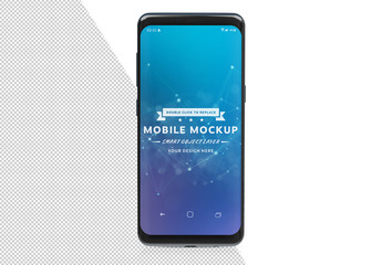 Smartphone Isolated on White Mockup