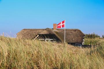 Dänemark Tourismus Ferienhaus in dn Dünen