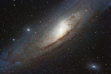 The Andromeda Galaxy, spiral galaxy in the constellation of Andromeda Messier 31 M31