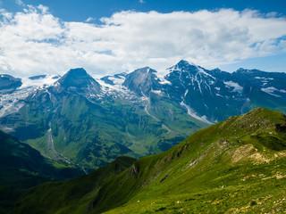 Austria, Hohe Tauern, Grossglockner High Alpine Road, view on Grossglockner