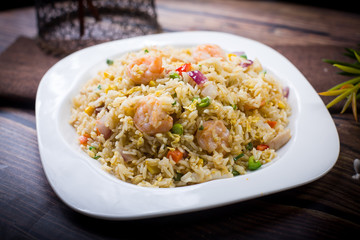 Secret seafood Fried rice