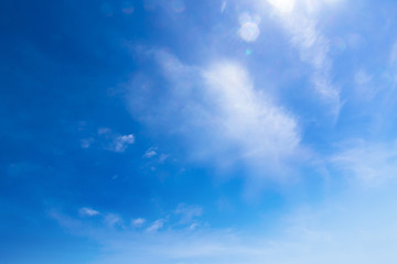 Blue skies and textures look as beautiful as paintings.