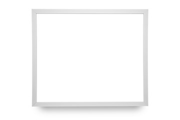 Frame isolated on white background.