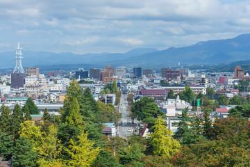 鶴ケ城 展望
