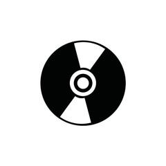 DVD icon. raster illustration