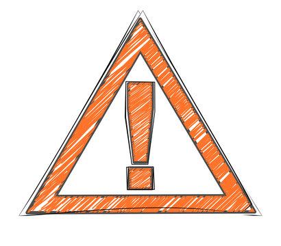 attention panneau dessin