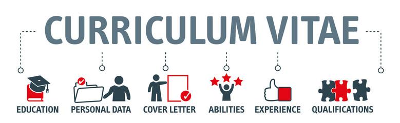 Curriculum Vitae Concept Vector Illustration