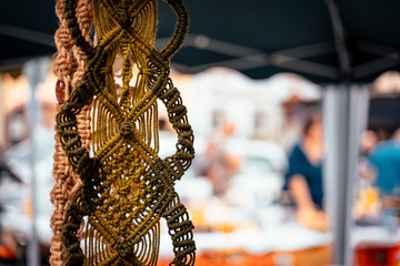 A flea market with craftsmanship in the field of handmade