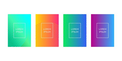 colorful geometric background for web banner or presentation