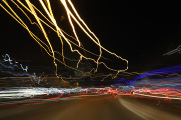 Abstract light for  speed