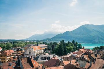 Annecy vu par drone