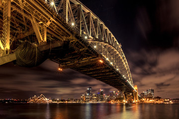Sydney Bridge Night