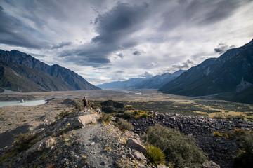 Mount Cook Area Neuseeland