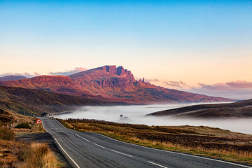 Early Morning Approaching The Storr, Isle of Skye, Scotland