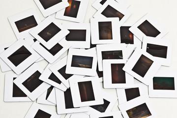 Fotografia di vecchie diapositive