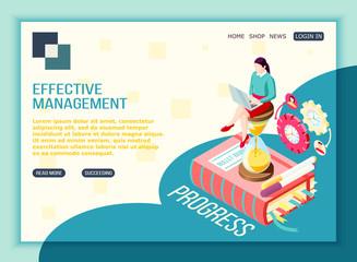 Progressive Management Landing Page