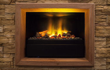 Modern Artificial Fireplace