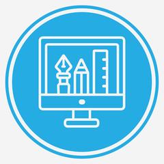 graphic design vector icon sign symbol