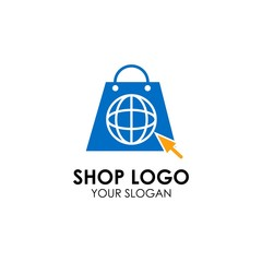 shop logo design