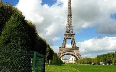 Fototapete - View of Paris, France
