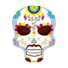 mask of the santa death