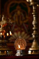 Decorative Diwali candle